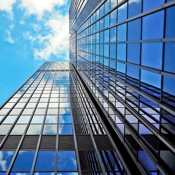 láminas solares edificios