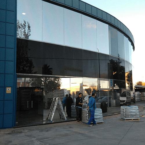 Protección solar para ventanales