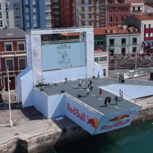 Instalación lonas publicitarias en Sevilla