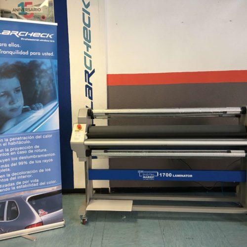 Impresora para lonas publicitarias