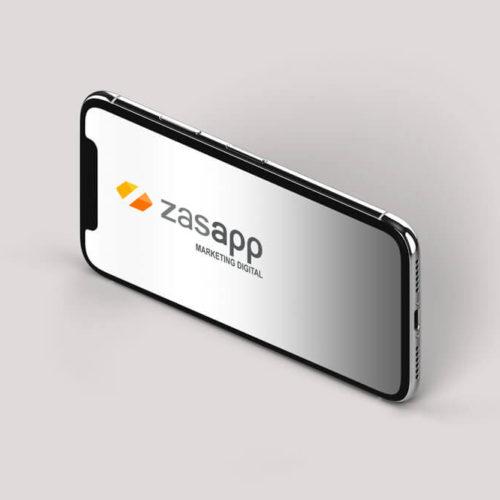 Montaje logo Zasapp