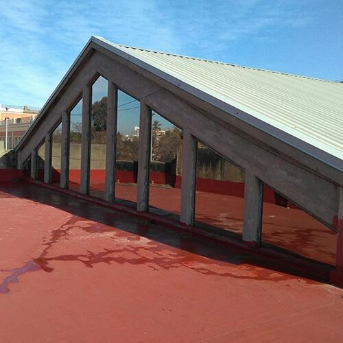 Protección Solar en lucernarios