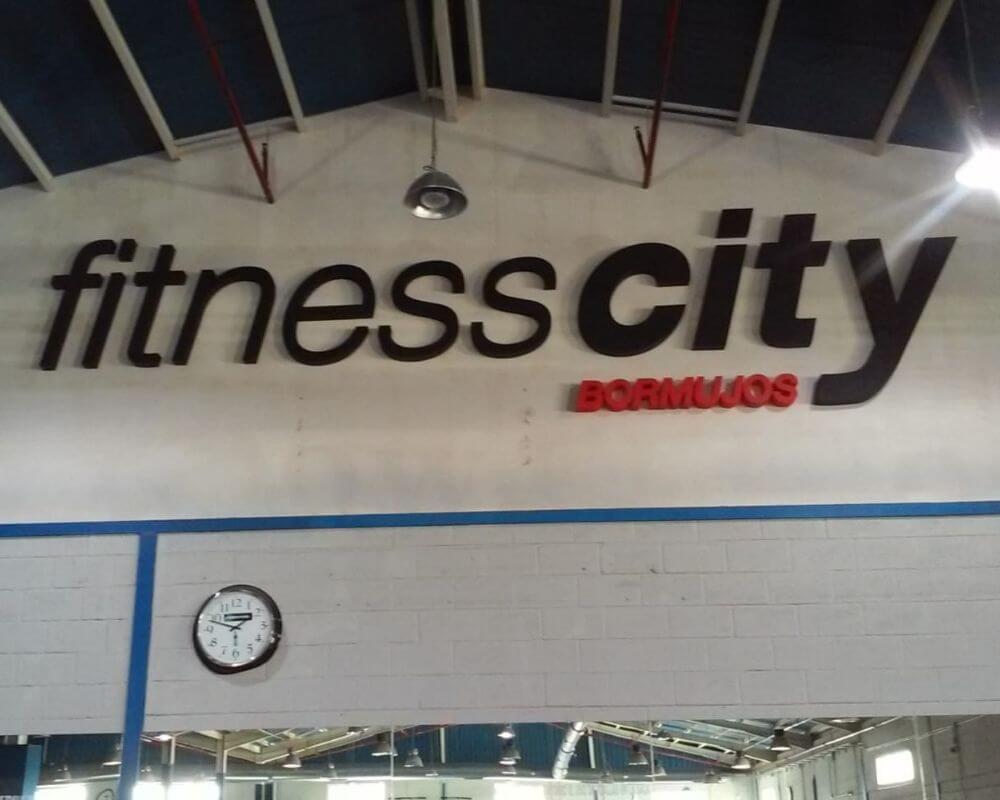 Proyecto Instalación Letras Corpóreas, vinilos y lonas - Fitness City 4